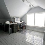 kantoor op zolder