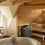 sauna op zolder