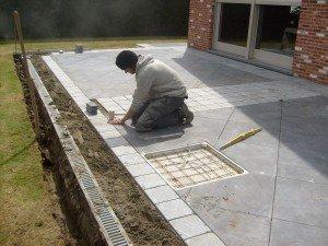 kosten terras aanleggen