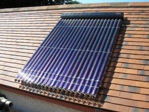 zonneboiler op dak
