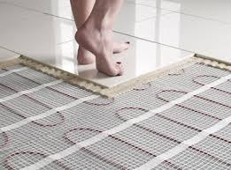 Vloerverwarming badkamer aanleggen informatie en offertes
